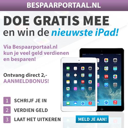 Online geld verdienen en besparen met Bespaarportaal.nl